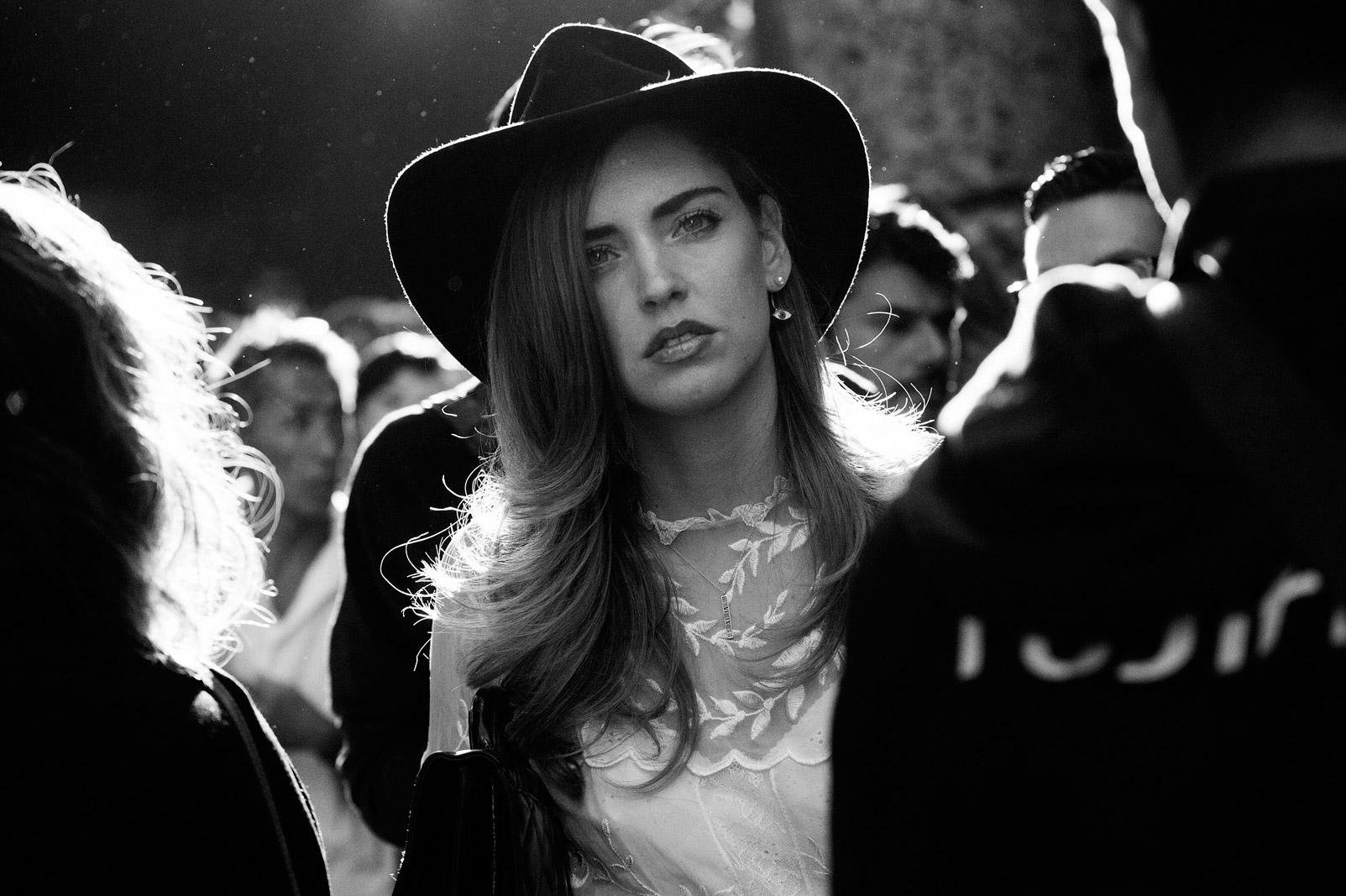 Chiara Ferragni street style milan