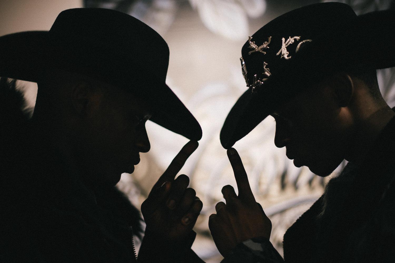 Noir Cowboy Philipp Plein