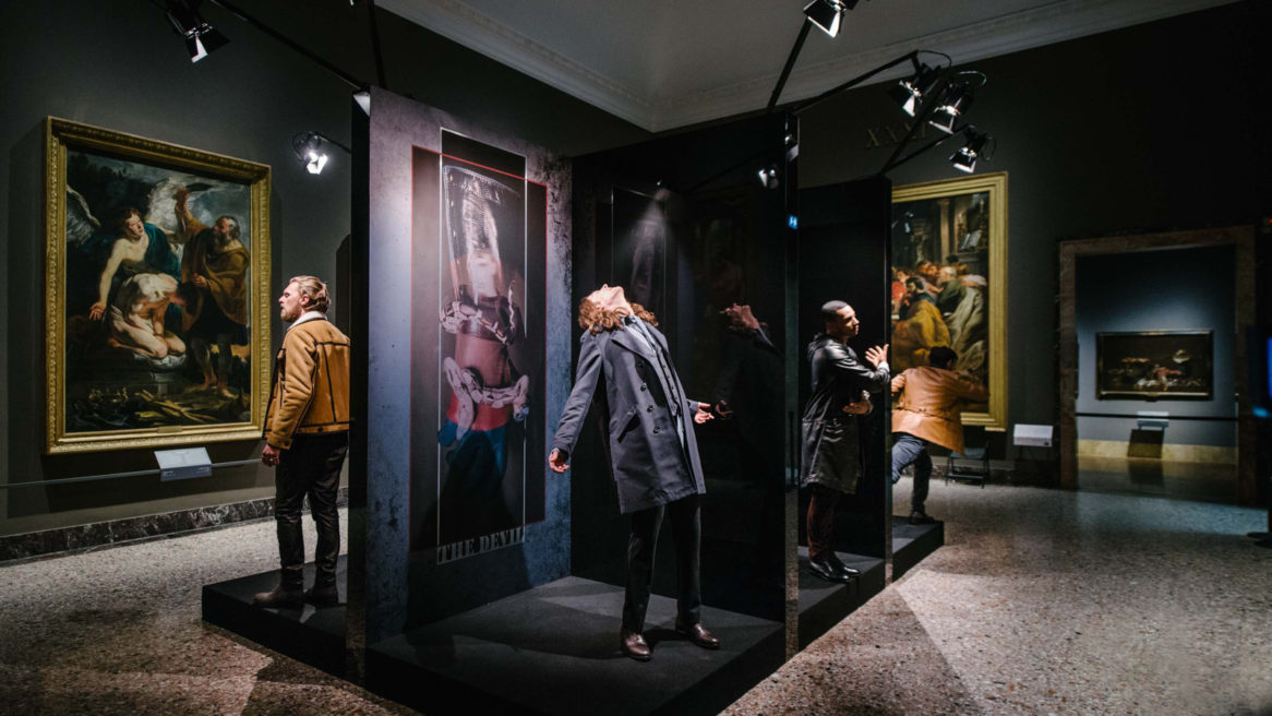 Trussardi Men's f/w 17/18, Brera Pinacoteca Gallery of Milan